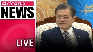 [LIVE/NEWSCENTER] President Moon convenes full NSC meeting to address outcome of the Singapore...