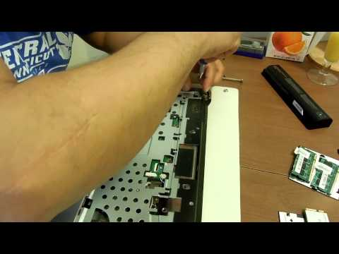 HP COMPAQ PRESARIO LAPTOP CQ60 DISASSEMBLY PART2