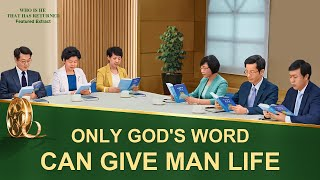 Only God's Word Can Give Man Life