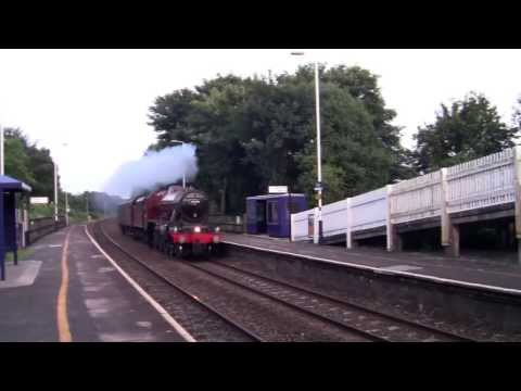 Clifton Railway Station - featuring LMS Jubilee 45699 Galatea