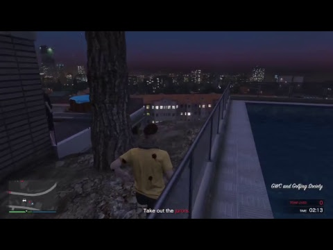GTA Online Funny Moments - Live From Tanzania