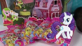 My Little Pony Sweet Apple Acres Barn Playset Unboxing & Wave 13 Blind Bags Opening | PSToyReviews