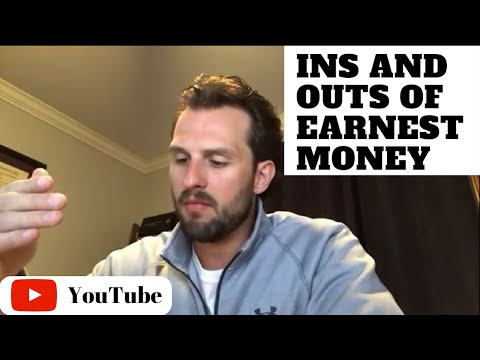 #141 - Earnest Money Explained for TREC Contracts