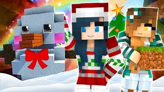 Minecraft - DO YOU WANT TO BUILD A SNOWMAN? Christmas Build Battle w/ KREW (Minecraft Building Game)