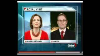 Global National - Prince William to visit Canada - Matthew Rowe Comments