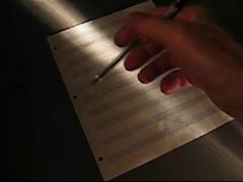 Fear Of A Blank Page (Short Film) by Ron Mael