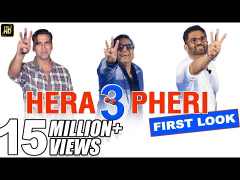 Hera Pheri 3 Comedy First Look | Akshay...