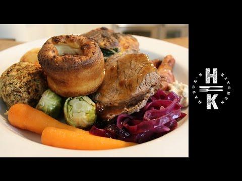 How to make a Sunday Roast Dinner / Christmas dinner Ad