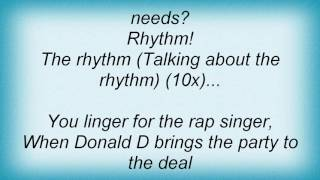 house of pain the rhythm featuring ice t donald d diva lyrics