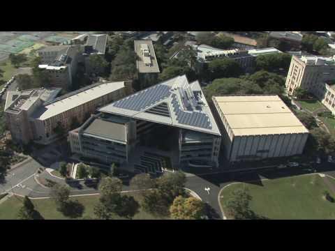 UQ Solar aerial - 2011