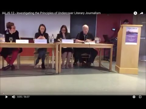IALJS-12 - Investigating the Principles of Undercover Literary Journalism
