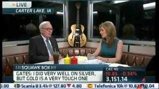 Warren Buffett CNBC - Gold, Silver & Paper Money (07.05.12)