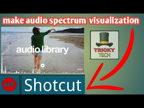 How to Make Audio Spectrum Visualization Like Audio Library NCS in Shotcut Video Editor