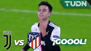 ¡Qué magia y golazo de Dybala!   Juventus 1 - 0 A. de Madrid   Champions League  J5  Grupo D   TUDN