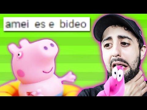 PIORES COMENTÁRIOS - VÍDEOS DE BRINQUEDOS