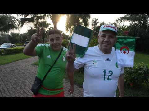 FCNaija LIVE in Uyo -  Pre-Nigeria v Algeria Moments