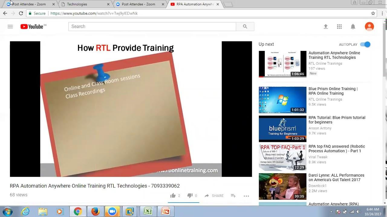 RTL Online Training