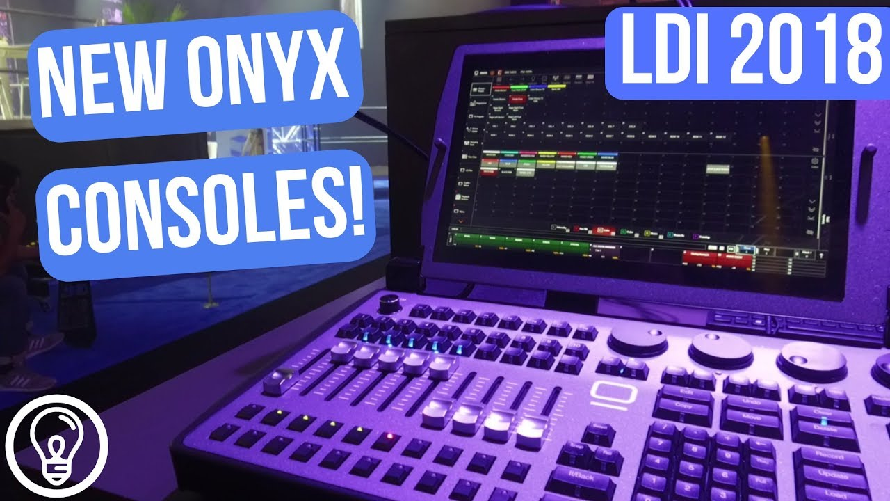 New Onyx NX2 and NX Wing from Elation and Obsidian Control Systems - LDI  2018