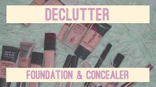 FOUNDATION & CONCEALER DECLUTTER