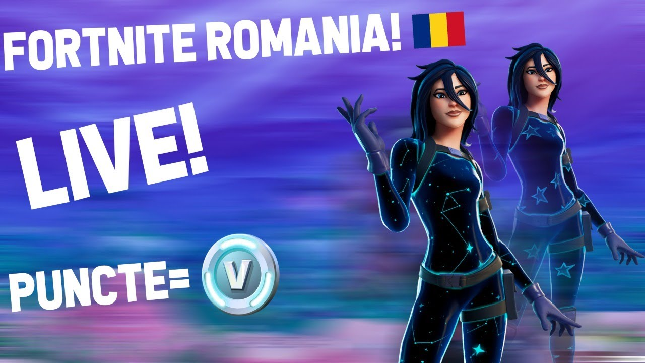 🔴FORTNITE ROMANIAV-BUCKS FREE!LIVE SPECIAL!