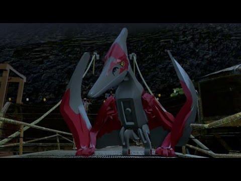LEGO Jurassic World - Pteranodon & Dimorphodon Gameplay (Isa Sorna Free Roam)