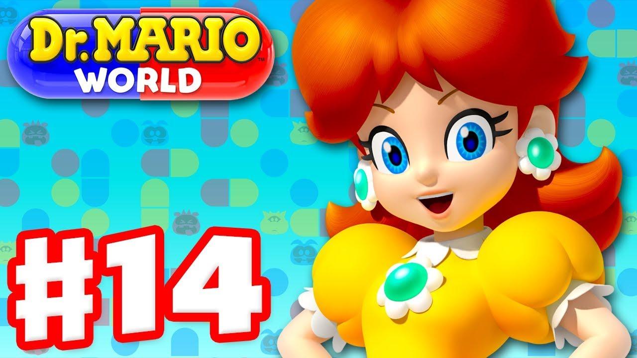 Dr  Mario World - Gameplay Walkthrough Part 14 - Dr  Daisy! (iOS)
