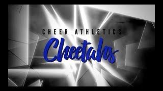Cheer Athletics Cheetahs 2018-19