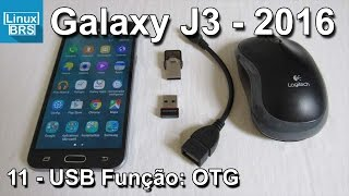 Samsung Galaxy J3 2016 - USB Função: OTG - Português