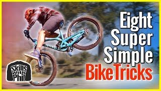 Video 8 Cool Mountain Bike tricks you can learn anywhere! download MP3, 3GP, MP4, WEBM, AVI, FLV September 2018