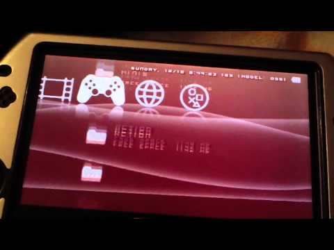 HOW TO UPDATE YOUR PRO CUSTOM FIRMWARE - PSP 1000 2000 3000 GO All PRO Versions B10 B9 B8 B7 B6