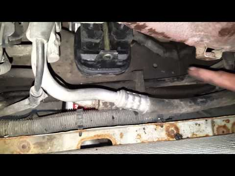 Engine Mount Replacement in 3.5L Olds Intrigue