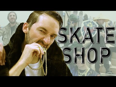 THRIFT SHOP - MACKLEMORE PARODY (SKATE SHOP)