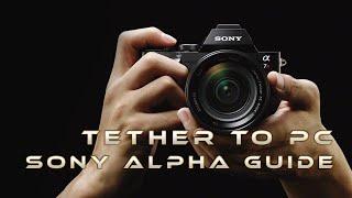 How to Tether Sony A6000/A77II/A7/A7R/A7S/A7II/A7RII/A7SII To Adobe Lightroom