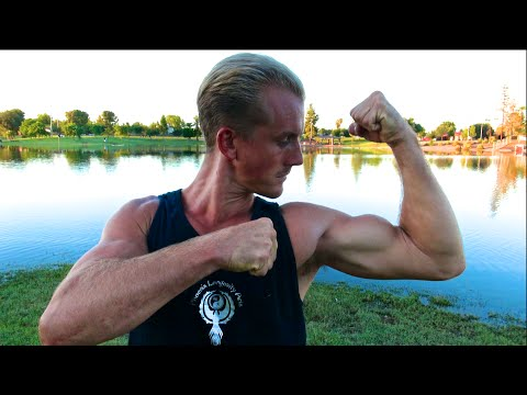 My KUNG FU Evening Routine at 6pm - Real Kung Fu with Jake Mace - Tempe Arizona
