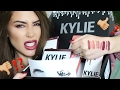 Kylie Cosmetics HAUL, UNBOXING, SWATCHES AND LIP TUTORIALS | FAILS AND WINS | CC Clarke Beauty