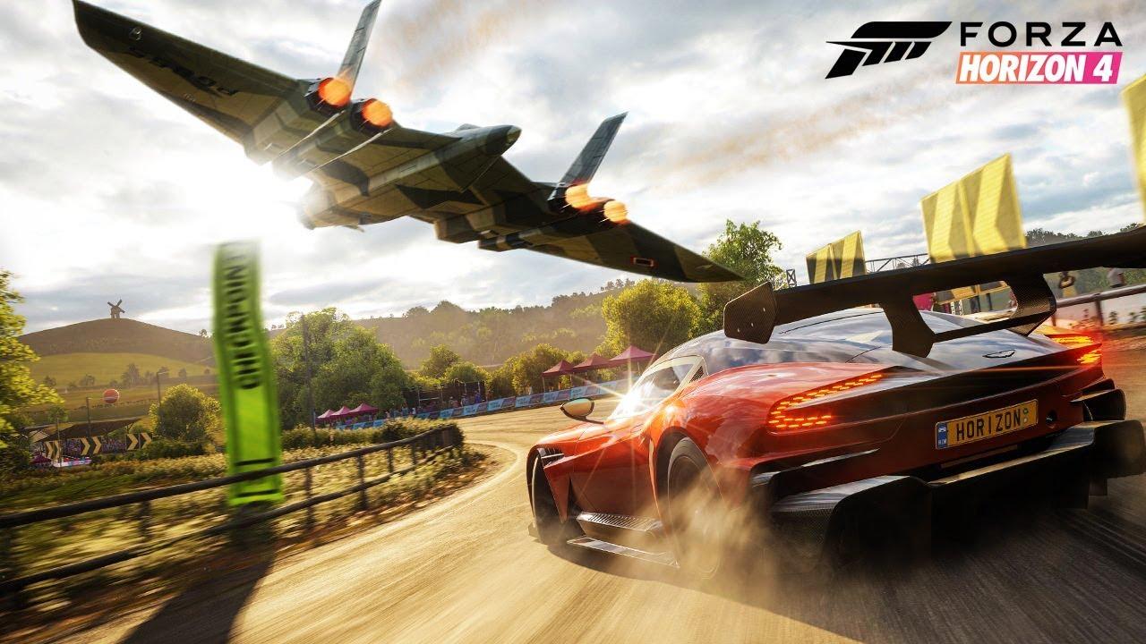 Forza Horizon 4 Wallpaper: FORZA HORIZON 4