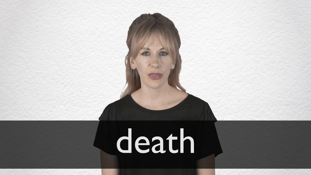 Death Synonyms | Collins English Thesaurus