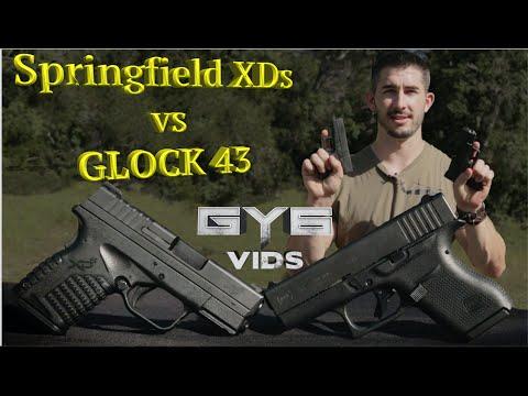 Springfield XDs -vs- GLOCK 43 [ Best Concealment Handgun ? ]