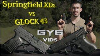 springfield xds vs glock 43 best concealment handgun