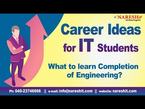 What to learn After Completion of Engineering? | Career ideas in IT | Career Guidance