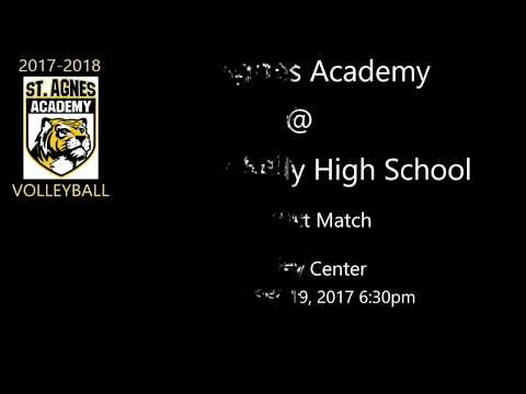 St. Agnes Academy @ Bishop Kelly High School - District Match - 09/19/2017