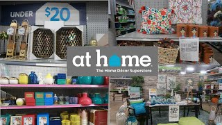 At Home Store Home Decor Come With Me Youtube