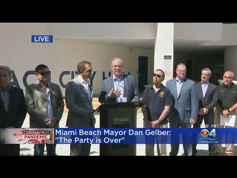 WEB EXTRA: Miami Beach, Fort Lauderdale Joint Press Conference On Coronavirus Response Measures Duri