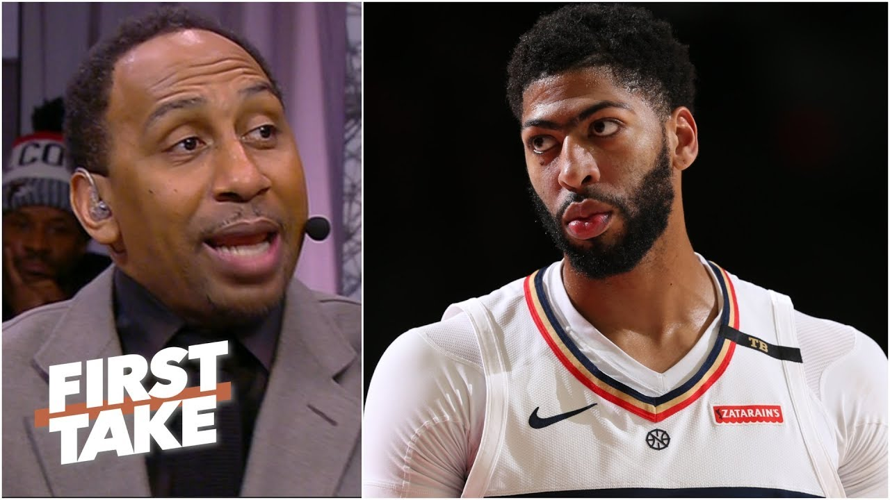 Pelicans should wait to trade Anthony Davis - Stephen A. Smith l First Take