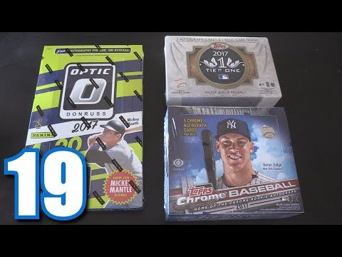PULLING 9 AUTOGRAPHS! | Opening Packs #19