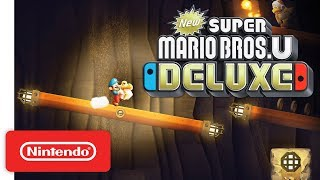 New Super Mario Bros. U Deluxe - Pt. 2: Places, Power-Ups, & Pals - Nintendo Switch
