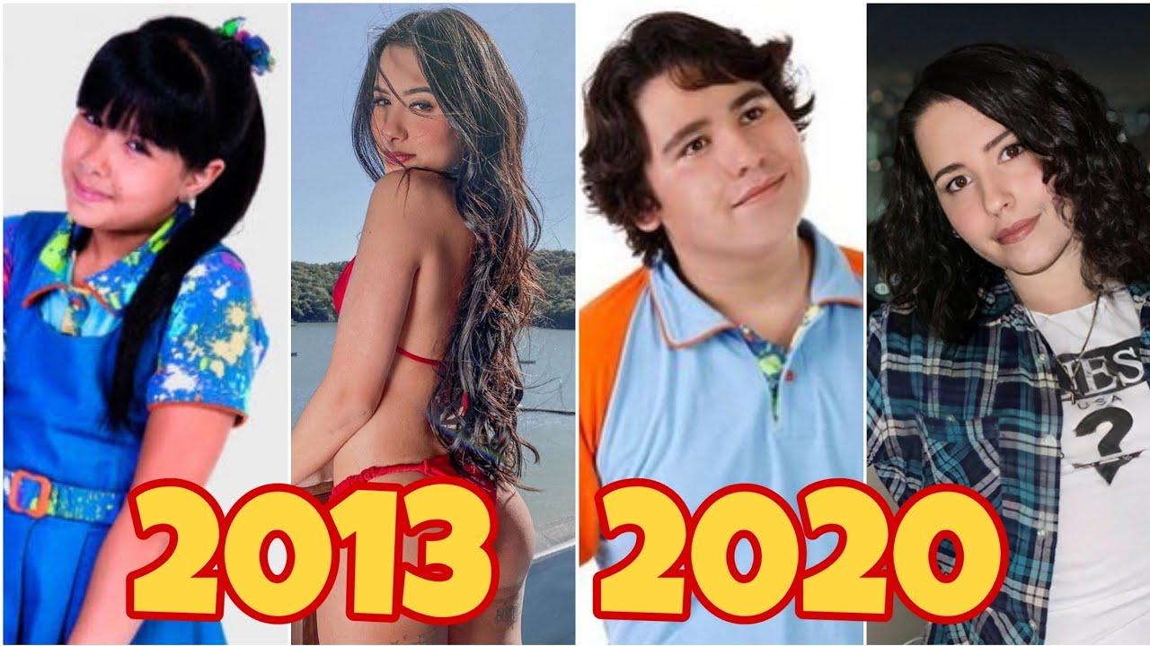 Chiquititas Antes e depois com idades 2020