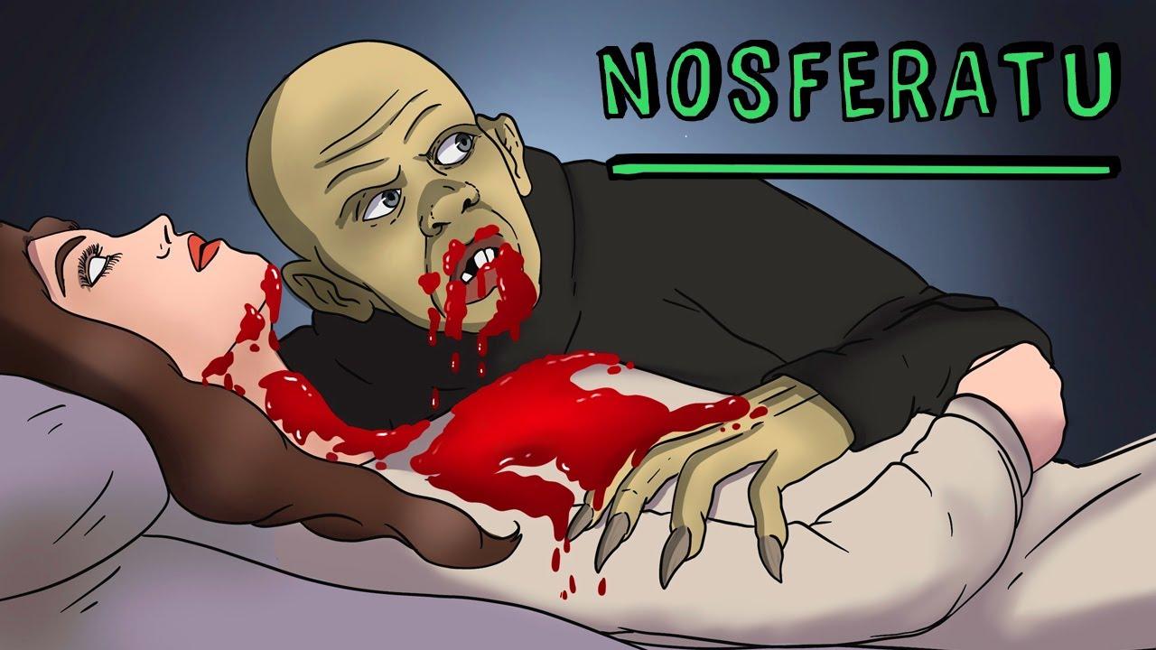 La Leyenda de Nosferatu 🧛♂ Draw My Life Historia de Terror