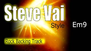 Rock Ballad Guitar Backing Track Steve Vai Style Em Highest Quality