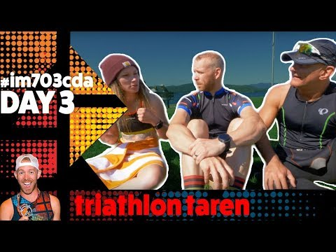 HALF IRONMAN Coeur D'Alene 70.3 2018 day 3: Answering BEGINNER TRIATHLETE Questions
